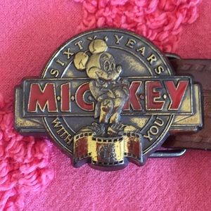 Disney Accessories - 1987 Disney Mickey Mouse belt